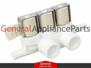 Washing Machine Water Triple Inlet Valve Fits Ge General Electric Wh13x10026