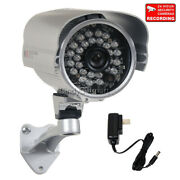 700tvl Security Camera Ir W/ Sony Effio Ccd 3.6mm Wide Angle And Power Supply 1t5