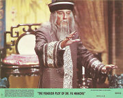 Peter Sellers In The Fiendish Plot Of Dr. Fu Manchu Original Lobby Card 1980