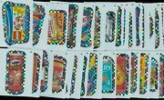 Wacky Packages Ans 9 Flash Silver Parallel Lot Of 32 Stickers