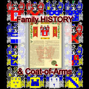 Armorial Name History - Coat Of Arms - Family Crest 11x17 Brinson-to-carrasco