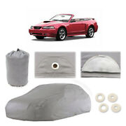 Ford Mustang 4 Layer Car Cover Fitted Outdoor Water Proof Rain Sun Dust 4th Gen