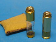 Rare 1953 Wedgwood Dorothy Gray Perfume Bottle Set With Pouch