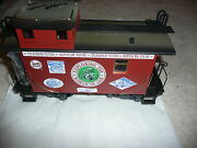 New - Rare Lgb 1999 Narrow Gauge Caboose - Signed By Lgb Owners – Ea-h-0004