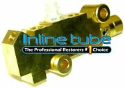 1971-77 Disc 4wd Brake Conversion Add On Prop Proportioning Brass Combo Valve