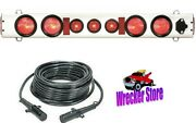 60 Led Wide Load Tow Light And 30' Cable - Wrecker Tow Truck Car Carrier Hauler