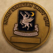 2d Battalion 160th Soar Night Stalkers Cmd Sergeant Major Army Challenge Coin