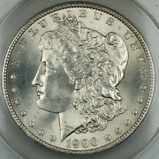 1900-o/cc Vam Morgan Silver Dollar Anacs Ms-63 Better Coin Top 100 Dgh