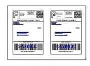 12000 Easy Peel Quality Round Corner 8.5 X 11 Shipping Labels For Usps Paypal