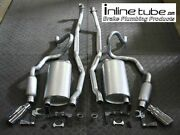 69 Chevelle Ss 396 Big Block Bottle Resonators Exhaust System Muffler Tail Pipes