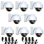 8x Security Camera Outdoor Day Night Vision For Cctv Surveillance Dvr System C5n