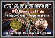 Wholesale World's Most Worthless Coin Display With 2012 Canada Penny / Us Cent