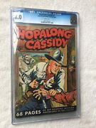 Hopalong Cassidy 2 Cgc 8.0 White 68 Pages Fawcett 1946 Golden Age And Free Reader