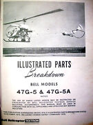 Bell Helicopter 47g-5 And 47g-5a Parts Manual