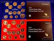 2012 Complete Pandd United States Mint Set Sealed In Original Government Packaging