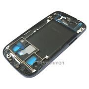 Mid Chassis Housing Frame Bezel Blue For Tmobile Samsung Galaxy S3 Iii Sgh-t999