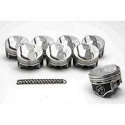 Chevy 7.4/454 Speed Pro Hypereutectic Coated Skirt 30cc Dome Pistons Set/8 +.060
