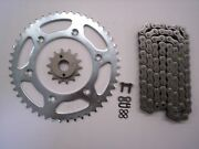 Honda Xr650r Xr 650 R Sprocket 14/48 Silver And Jt X-ring Chain Set Stock Gearing