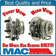Astro Van 95-02 All Wheel Drive 1 Front Wheel Hub Bearing Assembly Awd Only