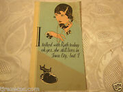 Illinois Bell Telephone Pamphlet Brochure Advertising Vintage Antique