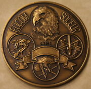 Special Operations Forces Europe Exercise Flintlock 88 Serial 81 Challenge Coin