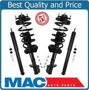 For 01-08 Ford Escape 2 Front Quick Spring Strut And Mount Plus Rear Shocks