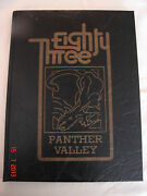 1983 Panther Valley Yearbook Lansford Pa Coaldale Pa Summit Hill Pa