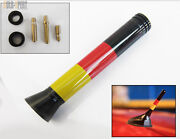 Germany Flag 3and039and039 Short Antenna Direct For Vw Jetta Golf Gti Rabbit R32 R34 35