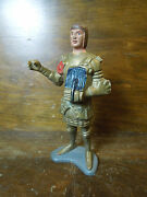 Vintage Louis Marx And Co. Toys-plastic Knight Figurine