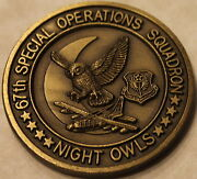 67th Special Operations Squadron Combat Shadow Mc-130p Air Force Challenge Coin