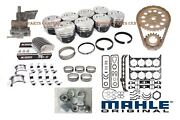 1981-85 Chevrolet 305 5.0l Master Engine Kit Chevy Pistons Op Timing Gaskets