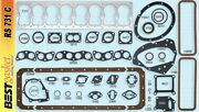 Chrysler 323 Flathead Full Engine Gasket Set/kit Best Copper Head+intake 1946-50