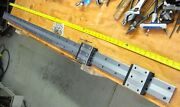 Giant Thk Linear Rails 1800mm 71 70mm Wide Double Carriages Blocks Hrw35 Guide
