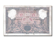 [202112] France 100 Francs 100 F 1888-1909 And039and039bleu Et Roseand039and039 1898 Km
