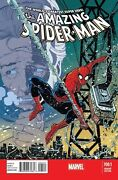 Amazing Spiderman 700.1 Janson Variant Nm Peter Parker Is Back 700 Continues