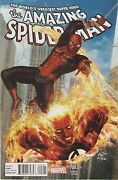 Amazing Spiderman 700.5 Hyuk Lee Variant Nm Peter Parker Is Back 700 Continues