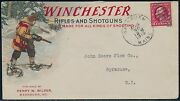 Winchester Rifles And Shotguns Multicolor 1915 Advertising Cvr Xf And Choice Bq8194