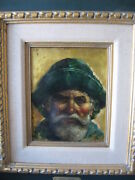 Endre Szabo Original Painting On Copper Listed Texas Artist
