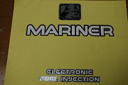 Mariner Outboard Efi And Logo Decal Oem 37-824104-53