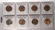 Build Your Own Album Presidential Dollars 2013 All 8 Coins
