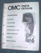 1985 Omc Parts/accessories/24 Catalogs Small To Large Hp
