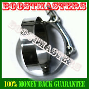 2x 2.5 Stainless Turbo Intake Intercooler Silicone T-bolt Clamps Coupler