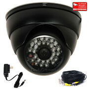 700tvl Outdoor Wide Angle Ir Security Camera W/ Sony Effio Ccd And Cable Power C81