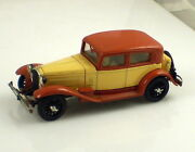 Rio Made In Italy Vintage Alfa Romeo 1750 Tan And Cream 143 Scale Die Cast Car
