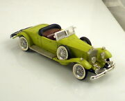 Rio Made In Italy Vintage 1931 Rolls Royce Lime Green 143 Scale Die Cast Car