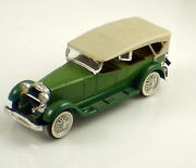 Rio Made In Italy Vintage 1928 Lincoln Green Convertable 143 Scale Die Cast Car