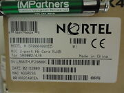 Nortel Sr0004008e5 2-port 100m Ethernet High Speed Electrical Interface Card New