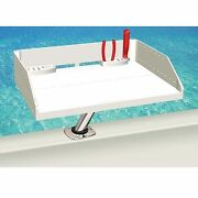 Magma Grills T10-421 Tournament Series Bait Fillet Table And Rod Holder Mount 20