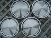 Vintage 1957 Plymouth Fury Belvedere Satellite Hubcaps Wheel Covers Center Cap