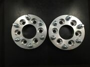 2x Cnc Wheel Spacers Adapters 6x114.3 To 6x139.7 / 6x4.5 To 6x5.5 2 50mm Thick